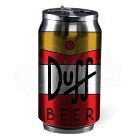 Termo De Aluminio Térmico Duff Beer Simpsons Envío Gratis!