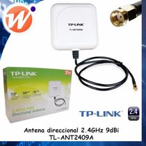 Oferta Antena Direccional 2.4ghz 9dbi Tl-ant2409a