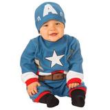 De Rubie Pañalero De Marvel Capitán América