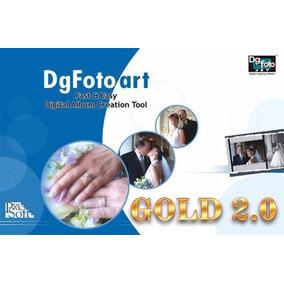 Dg Foto Art Gold 2.0 + 2900 Templates - Entrega Via Download
