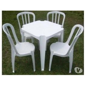 Jogo De Mesa E Cadeiras Bistrô 140 Kg (lote Com 5 Jogos )