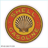 Adesivo Shell Gasoline Mopar Sticker Etiqueta 14cm #2067