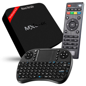 Mxq 4k Ultra Android 6.0 Marshmallow Smart Tv Box Teclado