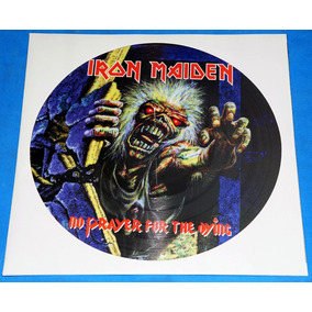 Iron Maiden - No Prayer For The Dying Lp Pic Disc Promo Uk