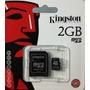 Memoria Kingston 2gb Sd Micro Sd - La Plata
