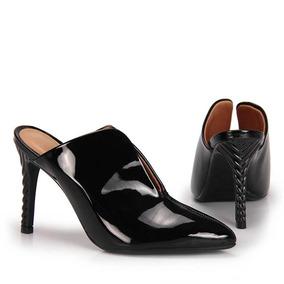 Sapato Salto Fino Mule Vizzano - Preto
