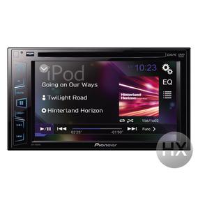 Stereo Pioneer Avh-195dvd Av 2-din Con Pantalla Táctil 6,2 !