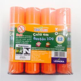 Cola Bastao 10gms Leo E Leo Pacote Com 12 Unidades.