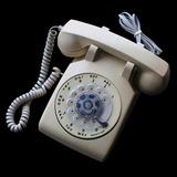 ¬¬ Teléfono Disco Sobremesa Itt Usa Antiguo Funcionando Zp