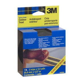 3m Safety-walk Cinta Antiderrapante Exteriores Color Negro