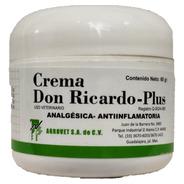 Crema Don Ricardo Plus 60 G Agrovet