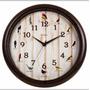 Relógio Parede Sweep Canto Passaros Brasileiros Herweg1-6691