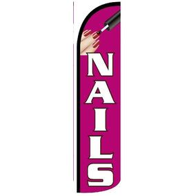Bandera Publicitaria De Catalogo Nails