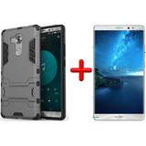 Kit Protector Armadura Huawei Mate 8 + Vidrio Templado