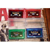 Pokemon Ruby Firered Saphire Emerald (inglés)gameboy Advanc
