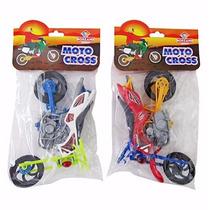 Moto Cross De Brinquedo Infantil Menino - 20 Cm