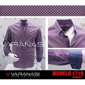 Camisa Manga Larga Varanasi Casual Slimfit 1719v3