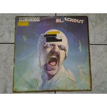 Lp Scorpions - Blackout (br) - Capa Durex - Lp Ótimo