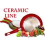 Sarten Ceramica Ceramicore 22cm Con Tapa Fondo De Panal