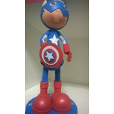 Personajes De Avengers Capitan America Foamia/microporoso