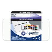 Acuarelas Aquafine Daler Rowney Set De Viaje X 24