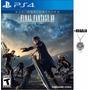 Final Fantasy Xv Ps4 Original Fisico Nuevo + Colgante Regalo