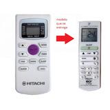 Control Remoto Aire Acond Para Tcl Hitachi Tecla Violeta