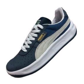 Zapatillas Puma California (azul)