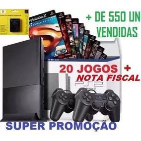 Video Game Playstation 2 No Mercado Livre + Jogos