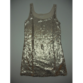 Musculosa Con Lentejuelas Old Navy Original 100% Talle Xs M
