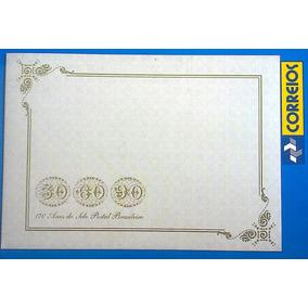 V 9168 Cartao Postal Selo Postal Brasileiro Olho De Boi