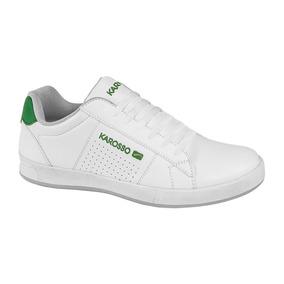 Tenis Padre Comodokarosso Color Blanco Sintetico Ur453 A