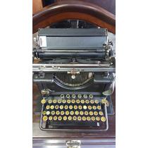 Maquina De Escrever Antiga Remington Modelo 16 (only Wood)