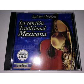 Cancion Tradicional Mexicana Cd Novedades España 2000 Mdisk