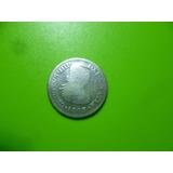 Antigua Moneda De 1/2 Real Carlos I I I I . 1803 Mo. Plata.
