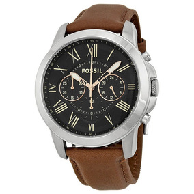 Reloj Fossil Jr1510 -cuero Genuino- Remate Ultimo Disponible