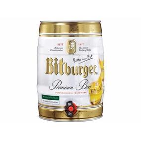 Cerveza Alemania Bitburger Barril 5l Importadaurquiza Drinks