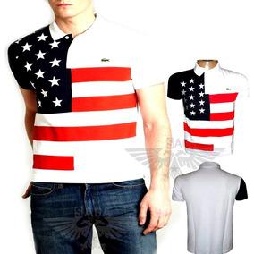Camisa Gola Polo U.s.a Famosa Estados Unidos Produto Novo