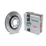 Discos De Freno Corven Vw Fox Suran 256mm Llanta 15