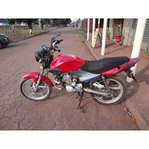 Moto Iros One Esd 125 - Baixada Com Nota De Leilao