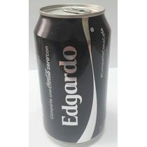 Lata Coca Cola Zero Nombre: Edgardo (origen: Panama) 354 Ml