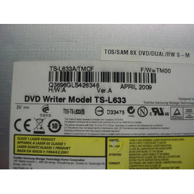 Dvdrw- Leitor Cd/dvd Sata Notebook- Toshiba Ts-l633