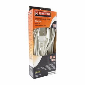 Extension Domestica 8m Blanca Calibre16 3contactos Peldaños