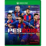 Pes 18 Xbox One Pro Evolution Soccer 2018 Fisico En Stock