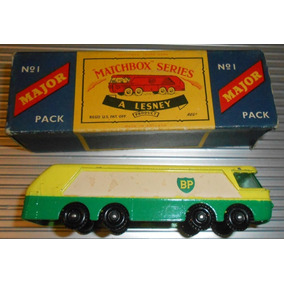 Camion B.p Autotanker Lesney Matchbox Series N°1 England 60s