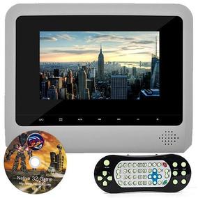 Tela Encosto Monitor 7 Booster Tv Digital Dvd Cd Usb Sd Game