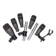 Set Microfonos Bateria Samson Dk707 7 Microfonos + Clamp Tm