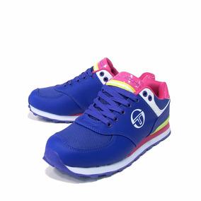 Zapatillas Mujer Sergio Tacchini Colores Cordones Pearl