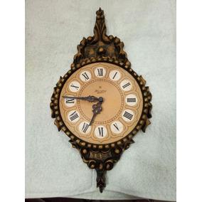 Relógio Antigo De Parede Herweg