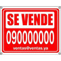 Cartel Se Vende Alquila Inmobiliarias Vende Ya Hoy